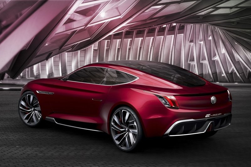 MG E-Motion Is the Company's Most Gorgeous Concept to Date Exterior Computer Renderings and Photoshop - image 714503