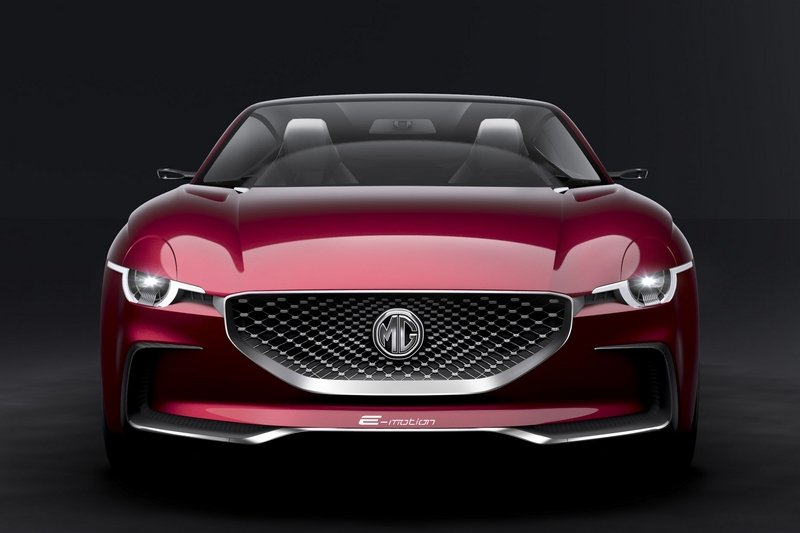 MG E-Motion Is the Company's Most Gorgeous Concept to Date Exterior Computer Renderings and Photoshop - image 714504