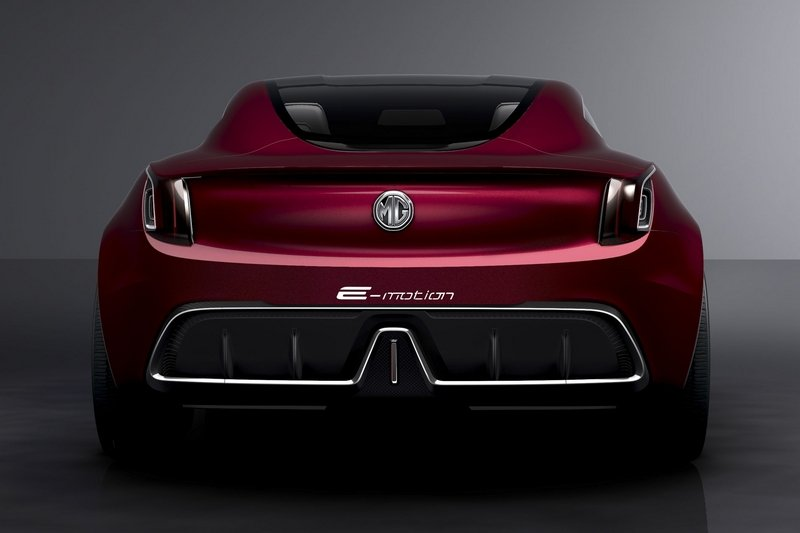 MG E-Motion Is the Company's Most Gorgeous Concept to Date Exterior Computer Renderings and Photoshop - image 714505
