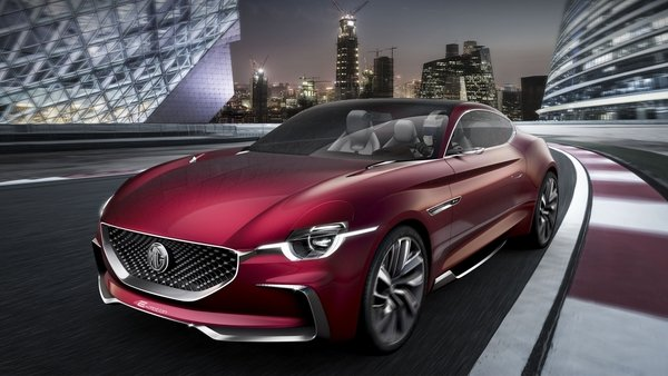mg e-motion is the company 039 s most gorgeous concept to date - DOC714507
