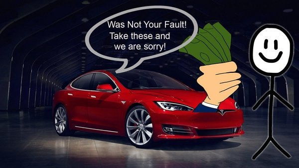 should tesla have to pony up for driver error - DOC712264