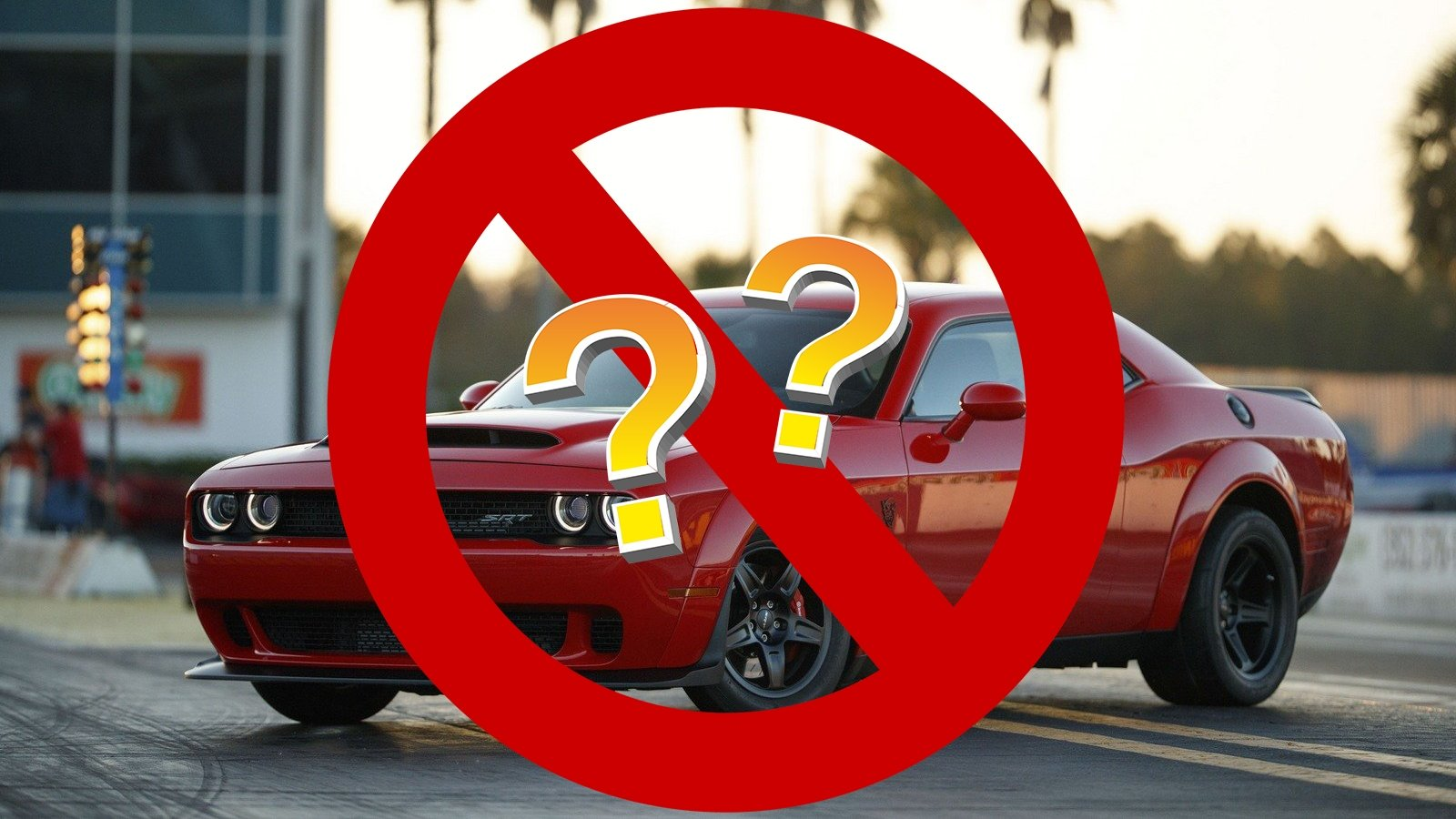 should the dodge demon be banned from public roads picture top speed. Black Bedroom Furniture Sets. Home Design Ideas