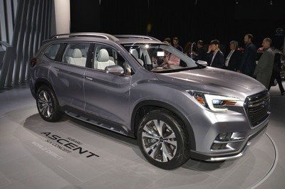 Subaru Ascent SUV Concept Begs One Question: WHY? - image 713494