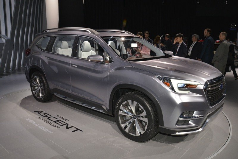 Subaru Ascent SUV Concept Begs One Question: WHY? High Resolution Exterior AutoShow - image 713494