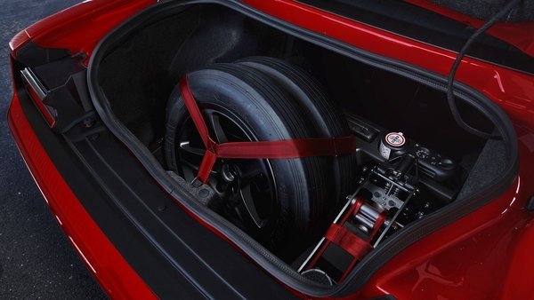 this is why the dodge demon comes with two spare tires - DOC714324