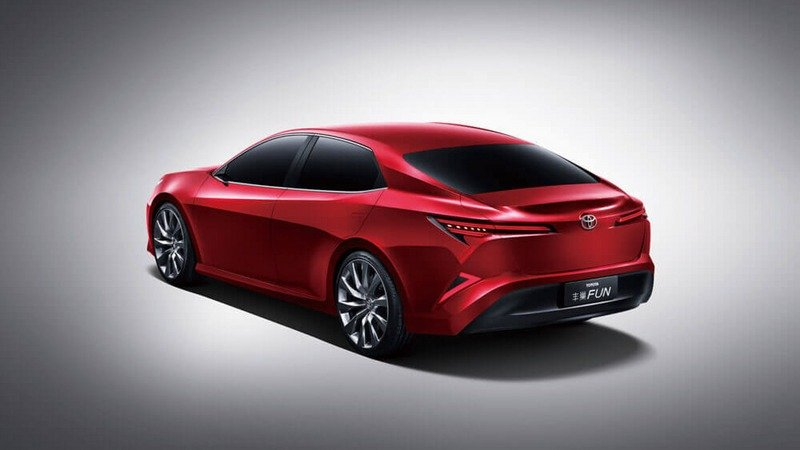 Toyota's Fun Concept Is What Our Camry Should Have Looked Like