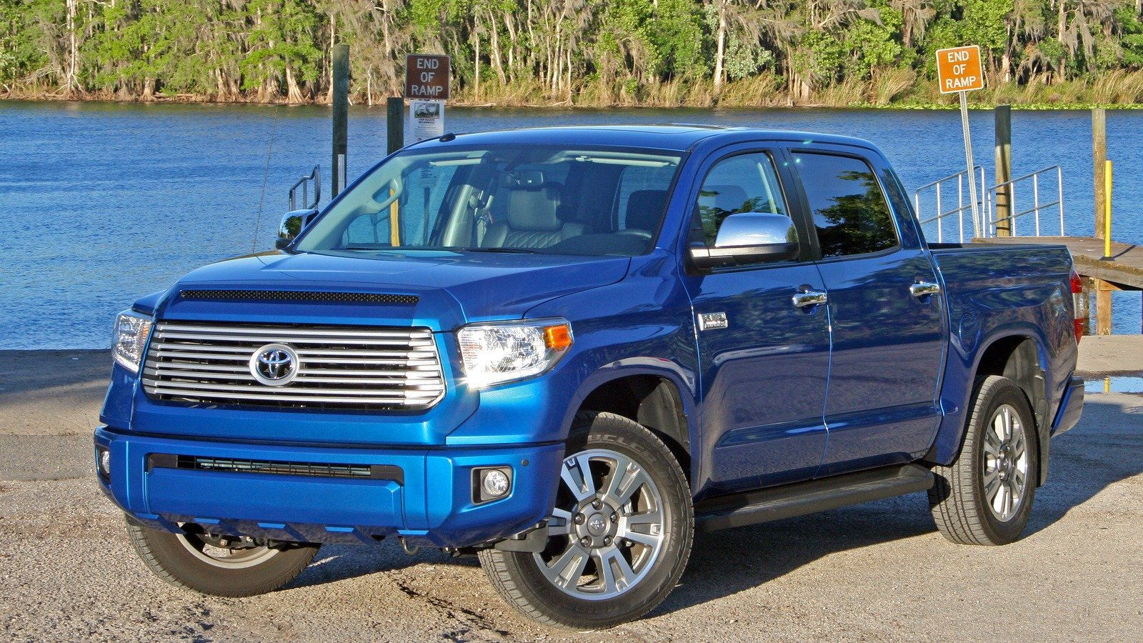 2017 toyota tundra platinum driven review top speed. Black Bedroom Furniture Sets. Home Design Ideas
