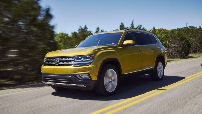 Volkswagen's New Atlas Makes the Touareg Pointless