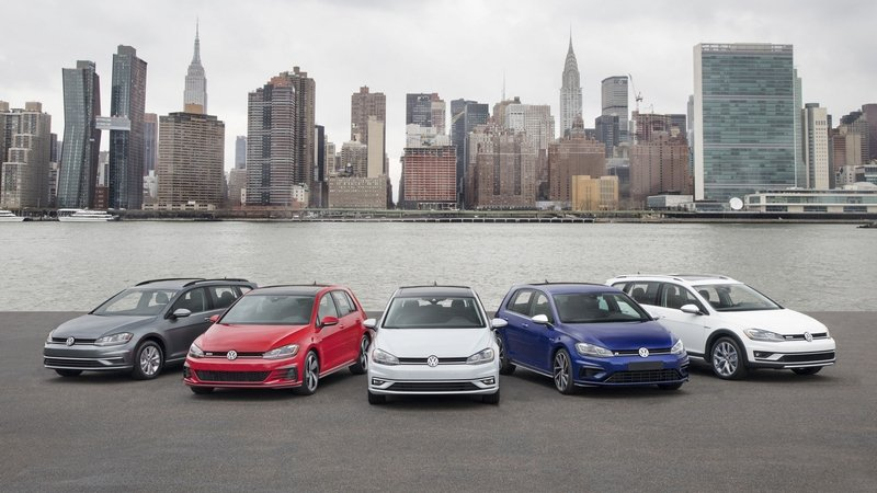 Volkswagen Updates the Golf Line, But Don't Expect Too Much