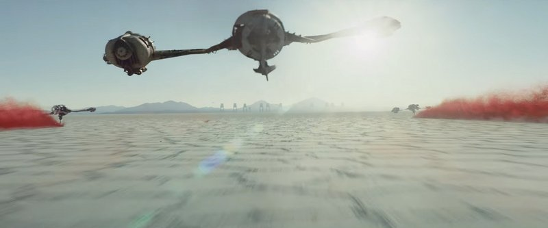 Warm Up Those Sub-Light Engines, We're Going For A Ride – Examining The Vehicles From 'Star Wars: The Last Jedi' Screenshots / Gameplay - image 714430