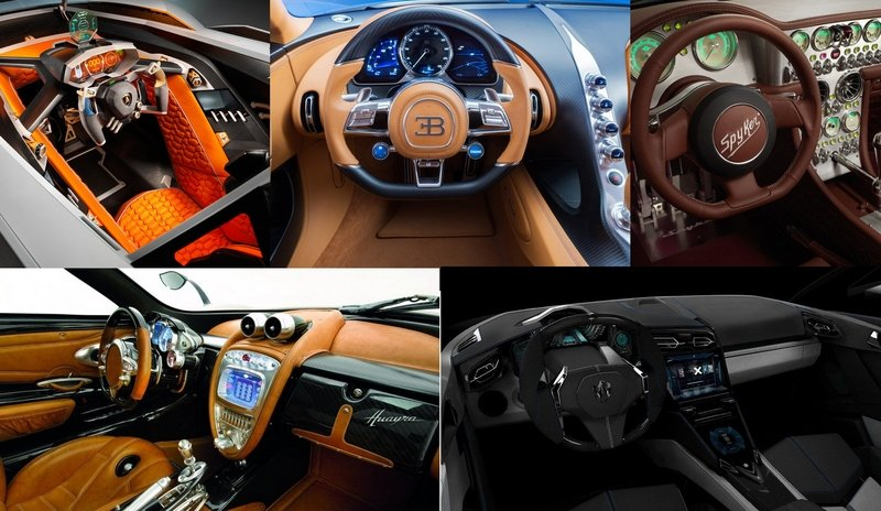 What Are The Craziest Supercar Interiors That Money Can Buy?