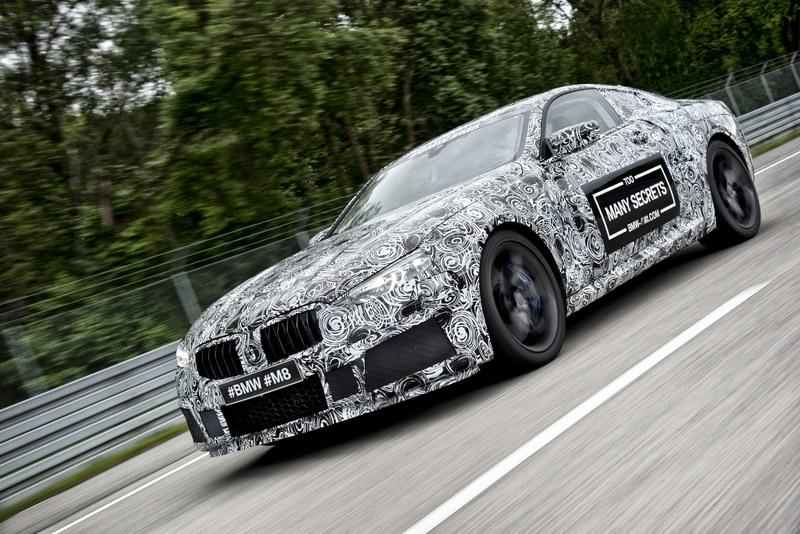 2019 BMW M8 Spyshots Exterior High Resolution - image 718301