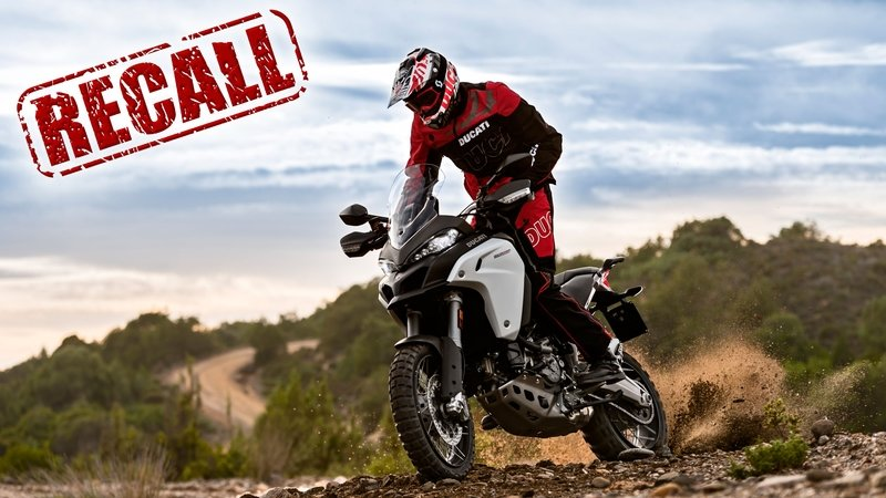 Ducati Recalls The Multistrada 1200 Enduro