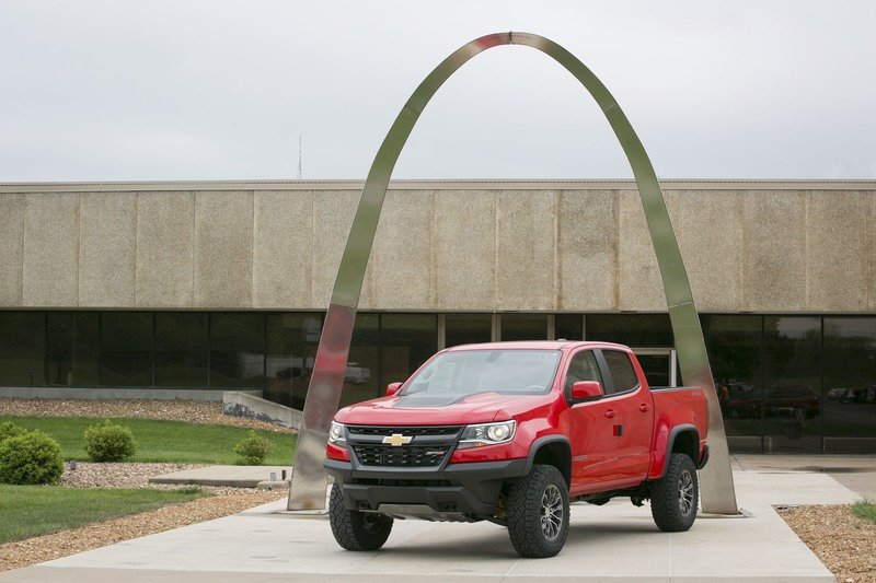 2017 Chevy Colorado ZR2 Now Arriving in Showrooms