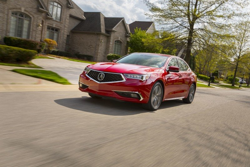 2018 Acura TLX Exterior High Resolution - image 717283