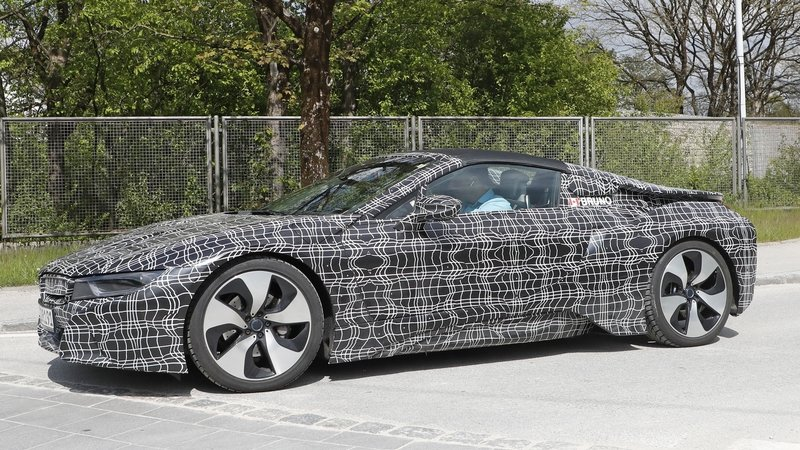 2018 Bmw I8 Spyder Review Top Speed