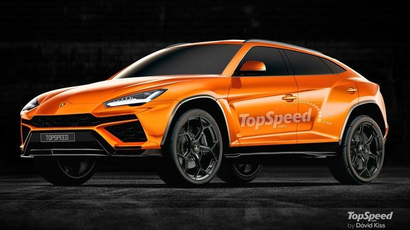 2019 Lamborghini Urus Computer Renderings and Photoshop Exclusive Renderings Exterior - image 716729