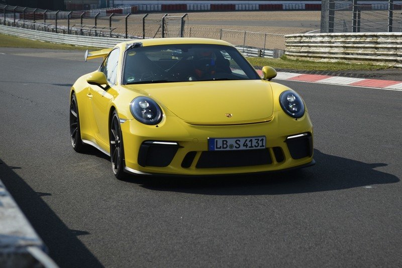 2018 Porsche 911 GT3 Is 12.3 Seconds Faster Than Its Predecessor On the Nurburgring