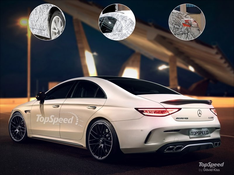 2019 Mercedes-Benz CLS Exterior Exclusive Renderings Computer Renderings and Photoshop - image 715150