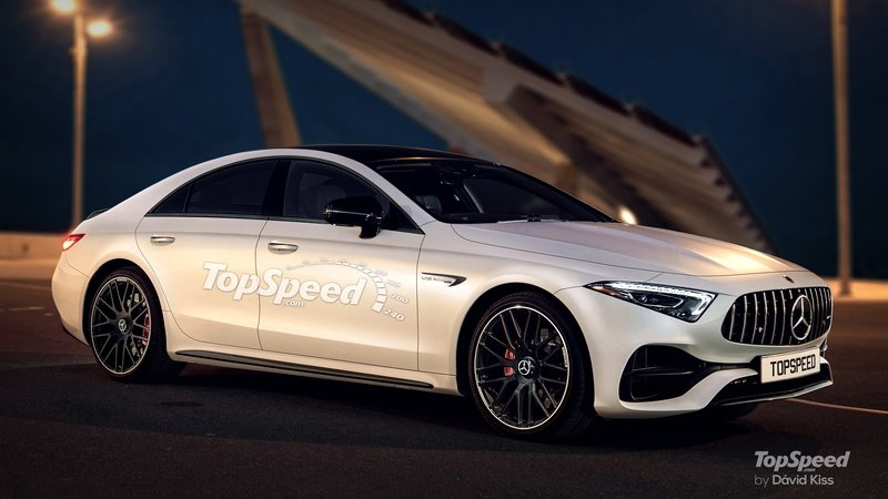2019 Mercedes-Benz CLS Exterior Exclusive Renderings Computer Renderings and Photoshop - image 715172