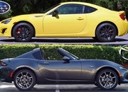 Attack of the Coupes: Subaru BRZ vs Mazda MX-5 Miata RF - image 716013