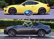 Attack of the Coupes: Subaru BRZ vs Mazda MX-5 Miata RF - image 716211