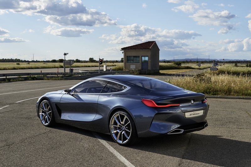 The BMW 8 Series Concept Falls Short Of Expectations Exterior High Resolution - image 718004