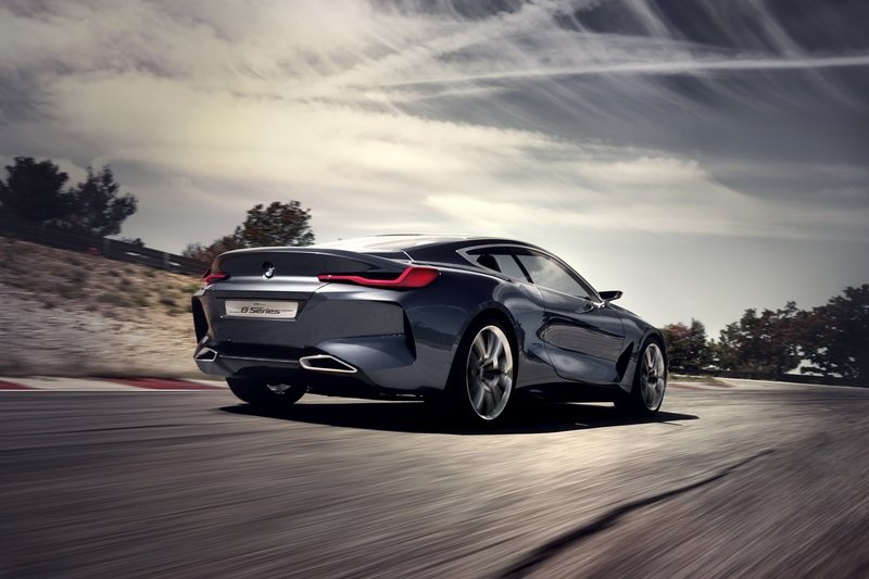 The BMW 8 Series Concept Falls Short Of Expectations Exterior High Resolution - image 718010