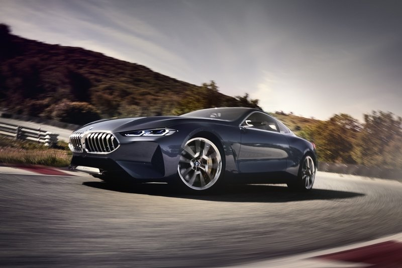 The BMW 8 Series Concept Falls Short Of Expectations Exterior High Resolution - image 718020