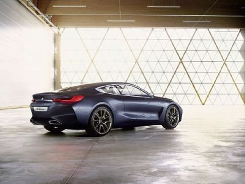 BMW 8 Series Concept Images Leaked Ahead of Official Debut