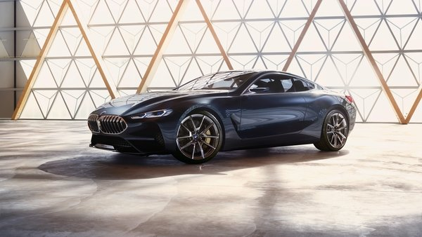 BMW's 8 Series Concept Looks Dead Sexy