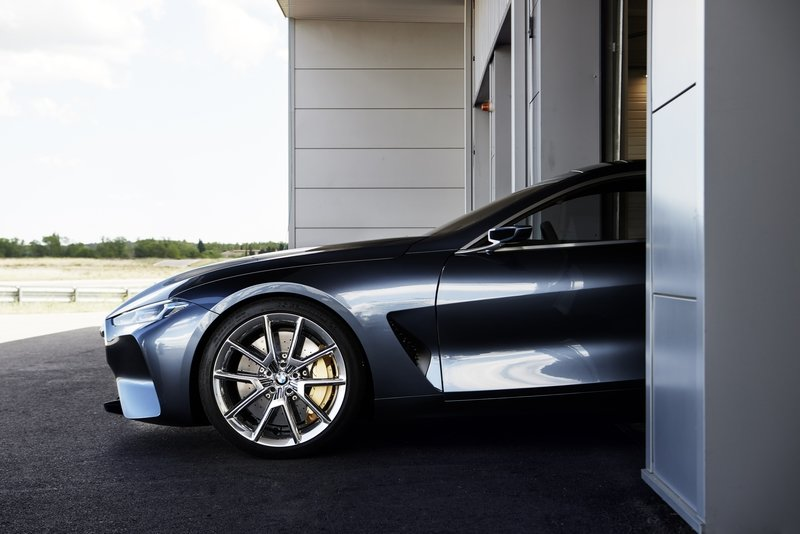 How Does the BMW 8 Series Concept Stack Up Against the Mercedes S-Class Coupe?