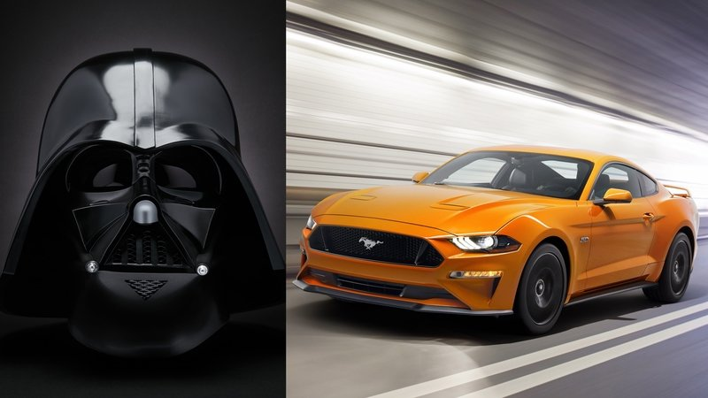 Can you guess who inspired the look of the 2018 Ford Mustang?