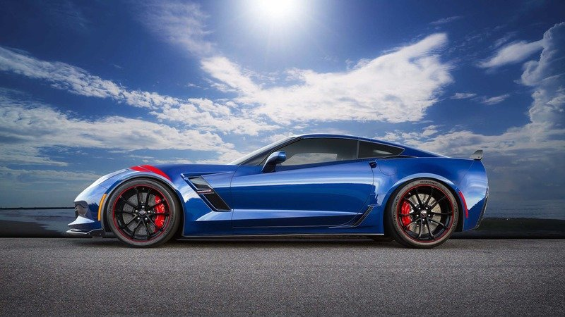 2017 Chevrolet Corvette Grand Sport Heritage Blue Special Edition