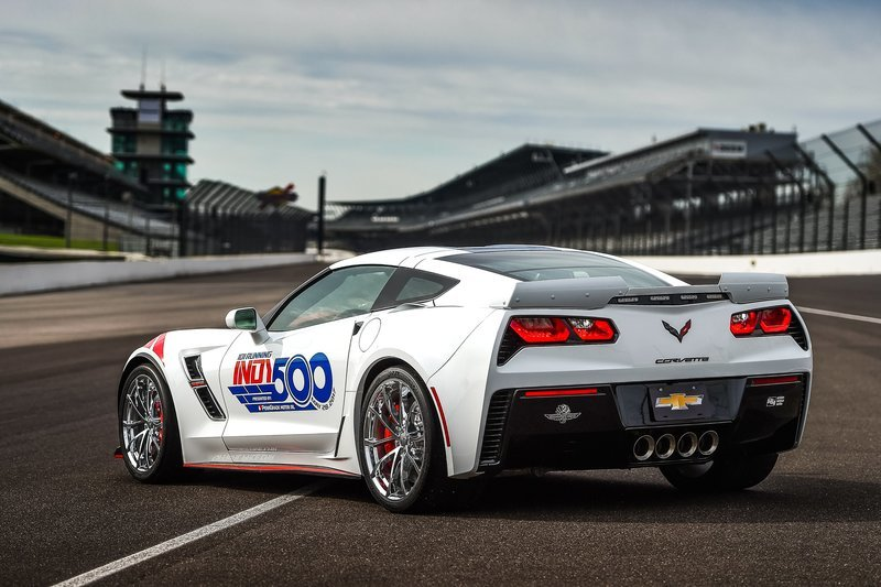 Chevrolet Corvette Grand Sport Will Pace 101st Indianapolis 500