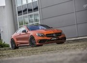 Don't Get Blinded By Fostla's Orange Chrome Wrap On The Mercedes-AMG S 63 - image 715436