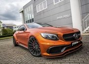 Don't Get Blinded By Fostla's Orange Chrome Wrap On The Mercedes-AMG S 63 - image 715437