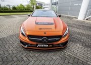 Don't Get Blinded By Fostla's Orange Chrome Wrap On The Mercedes-AMG S 63 - image 715430