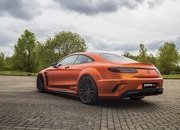 Don't Get Blinded By Fostla's Orange Chrome Wrap On The Mercedes-AMG S 63 - image 715431