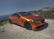 Don't Get Blinded By Fostla's Orange Chrome Wrap On The Mercedes-AMG S 63 - image 715427