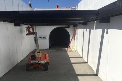 Elon Musk's Tunnel System Slowly Comes to Life