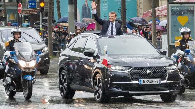 Emmanuel Macron's Presidential Ride Is A DS 7 Crossback