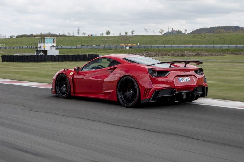 2017 Ferrari 488 GTB By Novitec Rosso High Resolution Exterior - image 718668