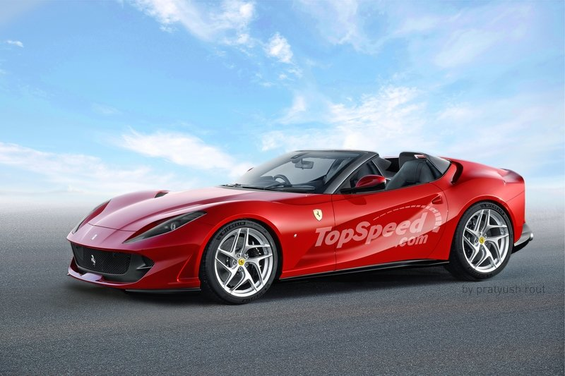 2019 Ferrari 812 Aperta Computer Renderings and Photoshop Exterior - image 716231