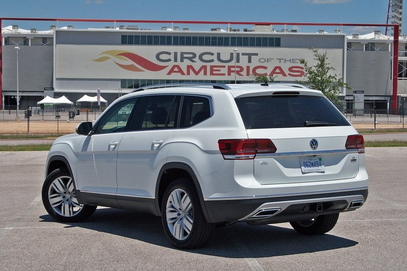 First Drive: 2018 Volkswagen Atlas High Resolution Exterior - image 716487