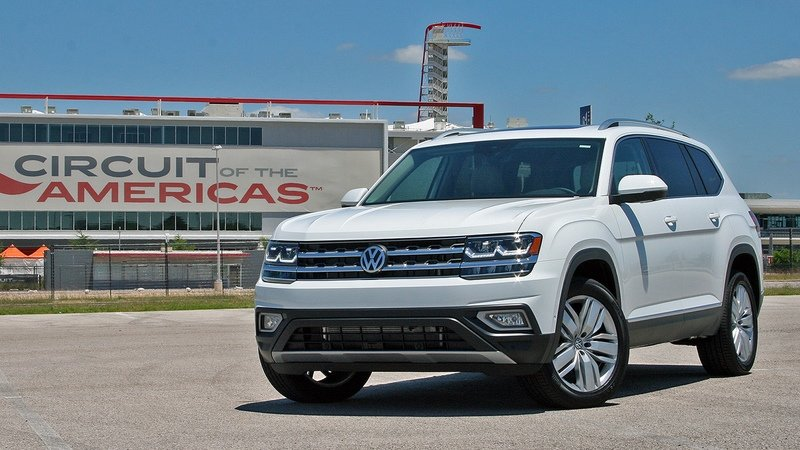 First Drive: 2018 Volkswagen Atlas