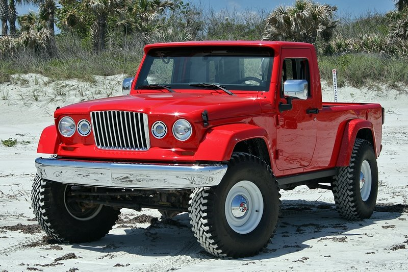 Quick Drive: Jeep J-12 Concept Exterior High Resolution - image 715060