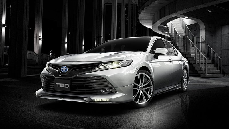 Japan Gets a Cooler Version of the Camry, and it's Even Offered in TRD Form High Resolution Exterior - image 717906