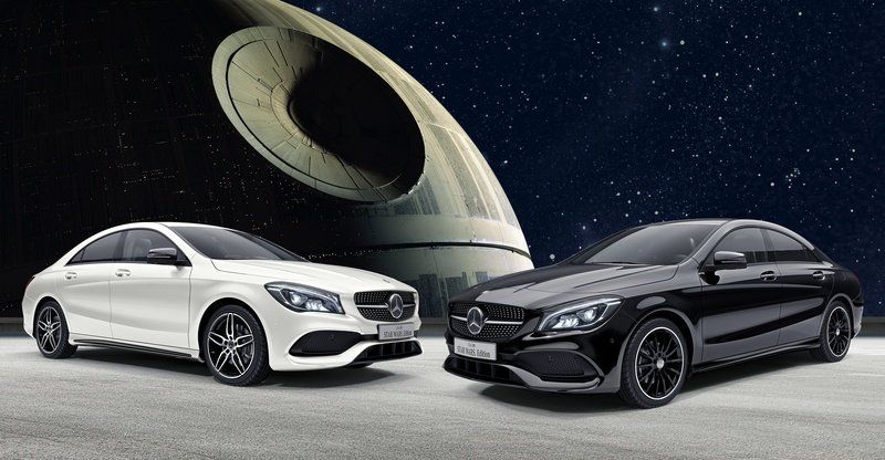 2017 Mercedes CLA180 Star Wars Edition