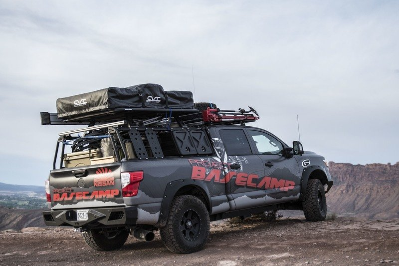 Nissan Titan XD PRO-4X Project Basecamp Exterior High Resolution - image 716265